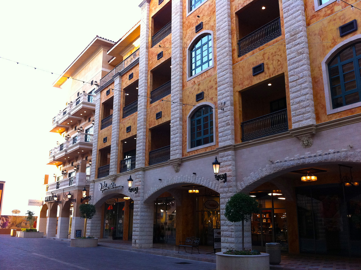 Tivoli Village Las Vegas Design Architects