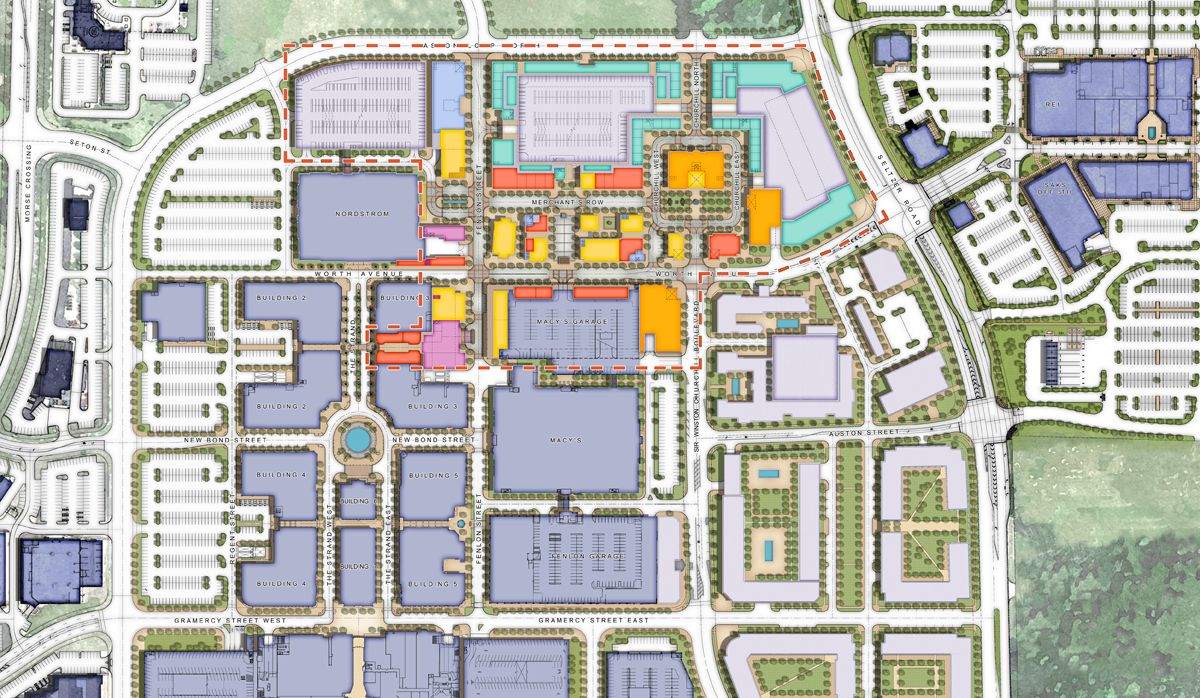 Easton Urban District Plan Design Architect