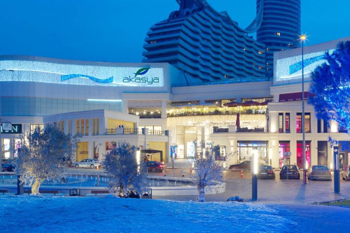 snowy Akasya entrance