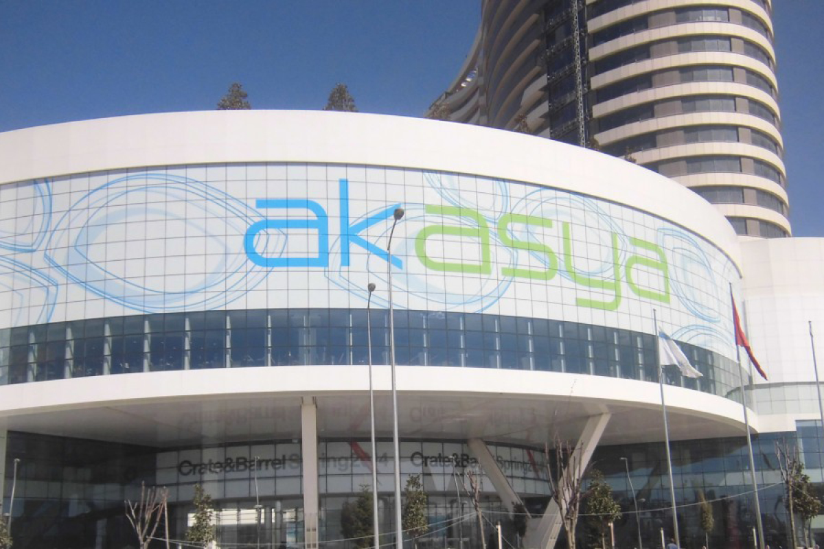main entry rotunda at Akasya