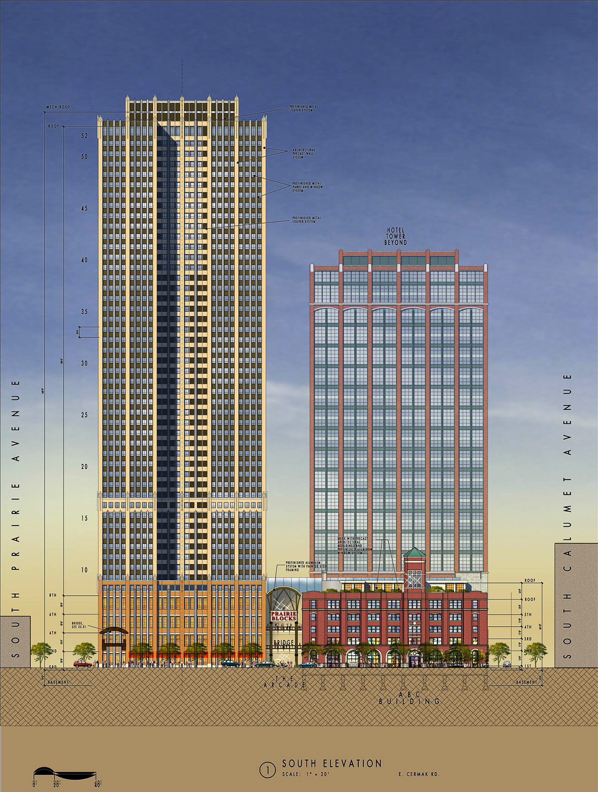 Prairie Block Chicago Design Architect