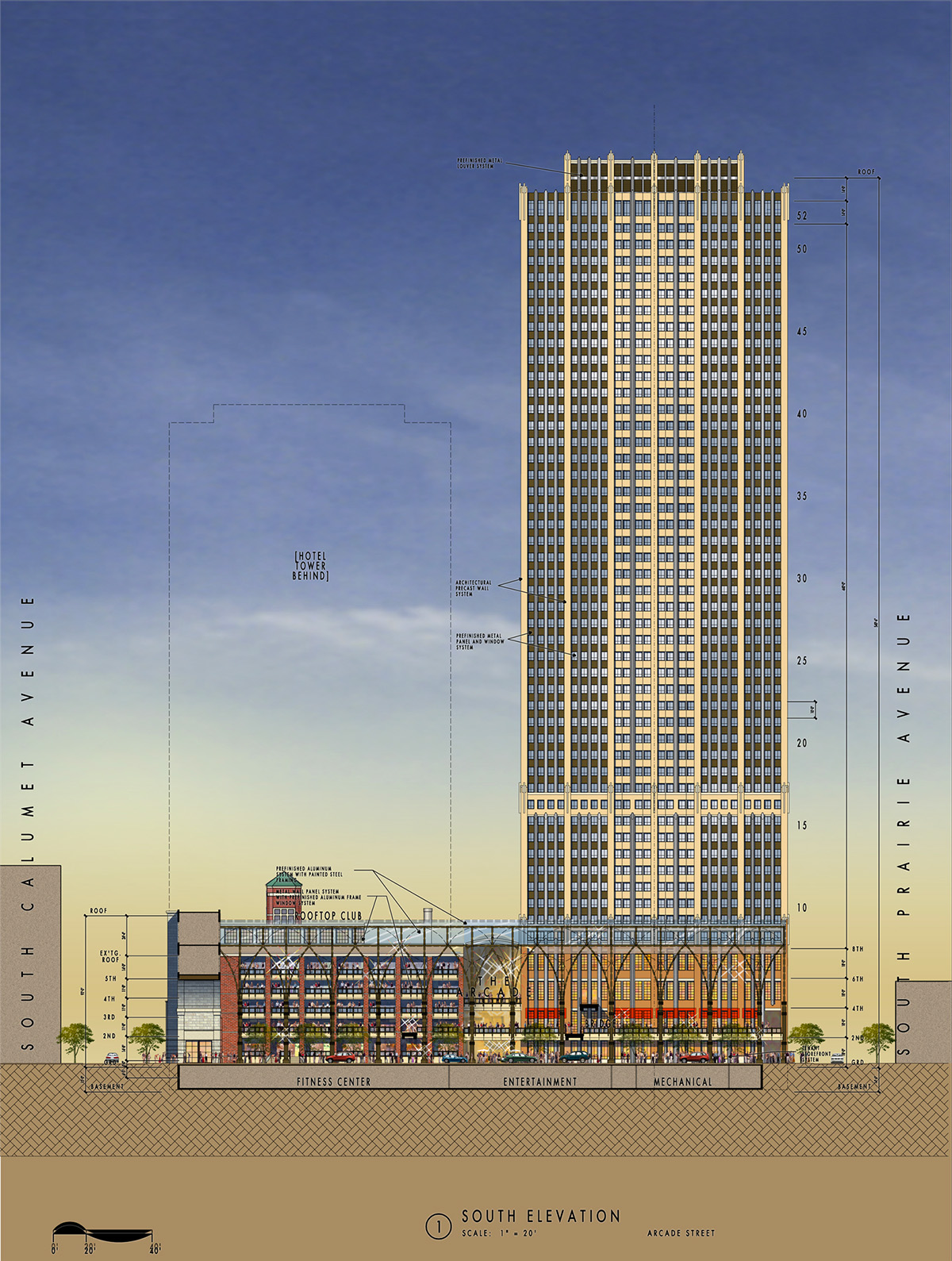 Prairie Block Chicago Design Architects