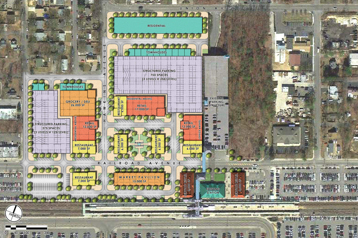 Ronkonkoma Station Square master plan