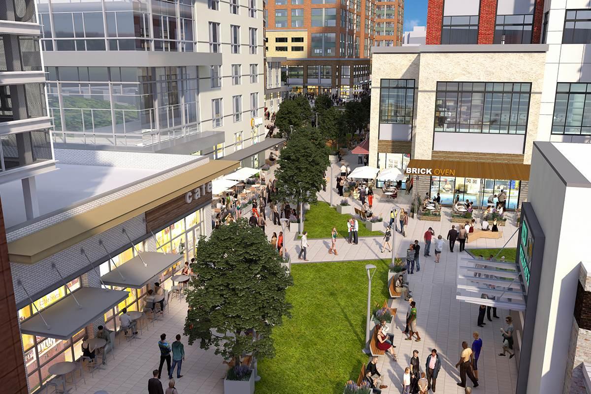 Catonsville Promenade retail architects