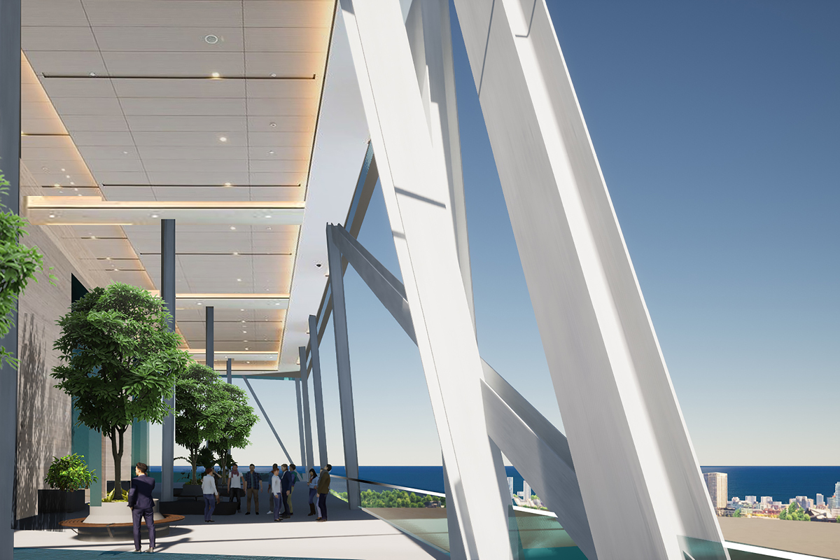 Sky Lounge at Marina Tower
