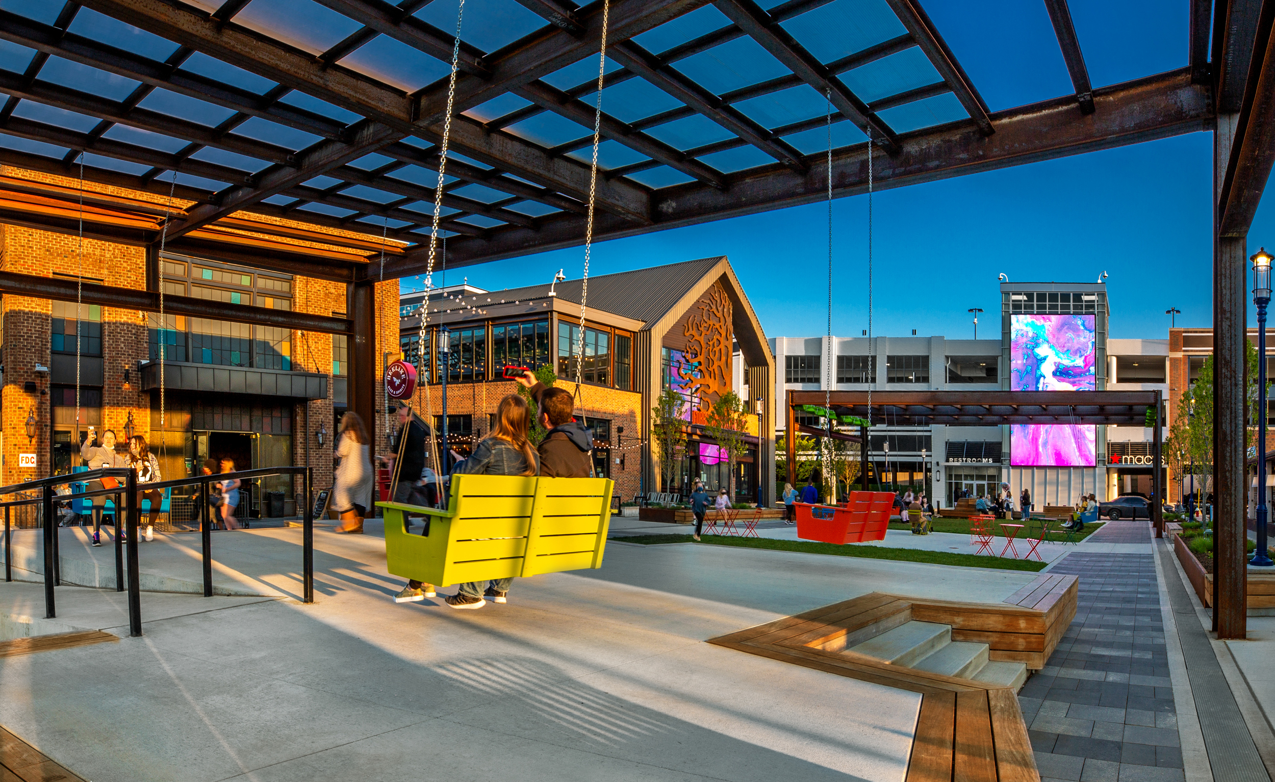 redesigning retail centers easton town center