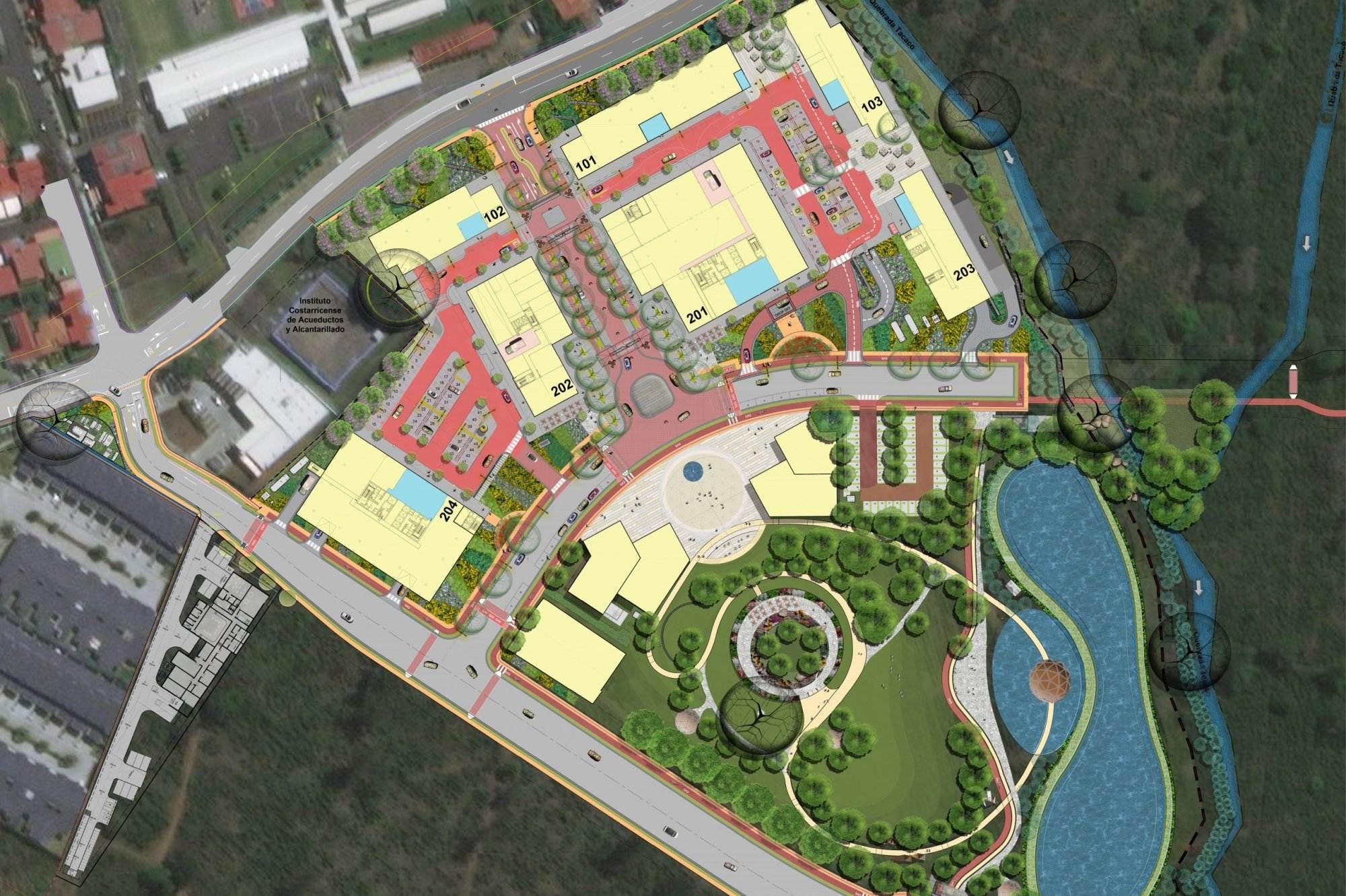 aleste village center design architect