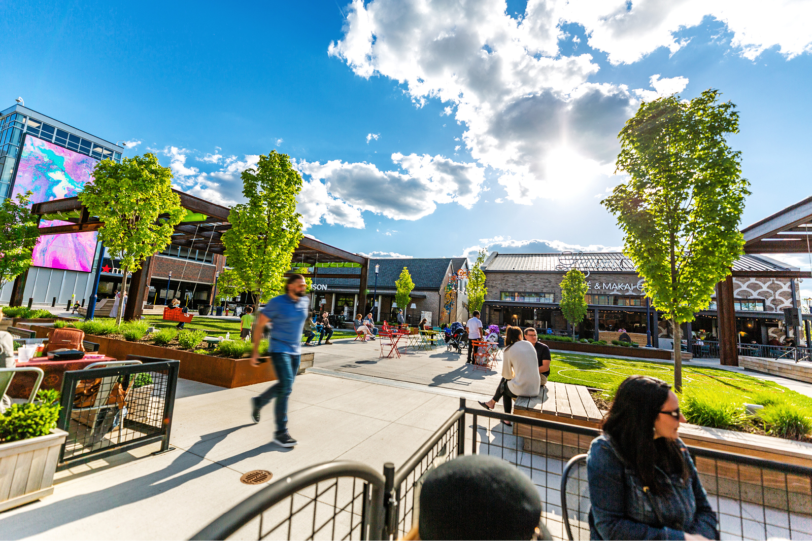 Easton Town Center Expansion designer