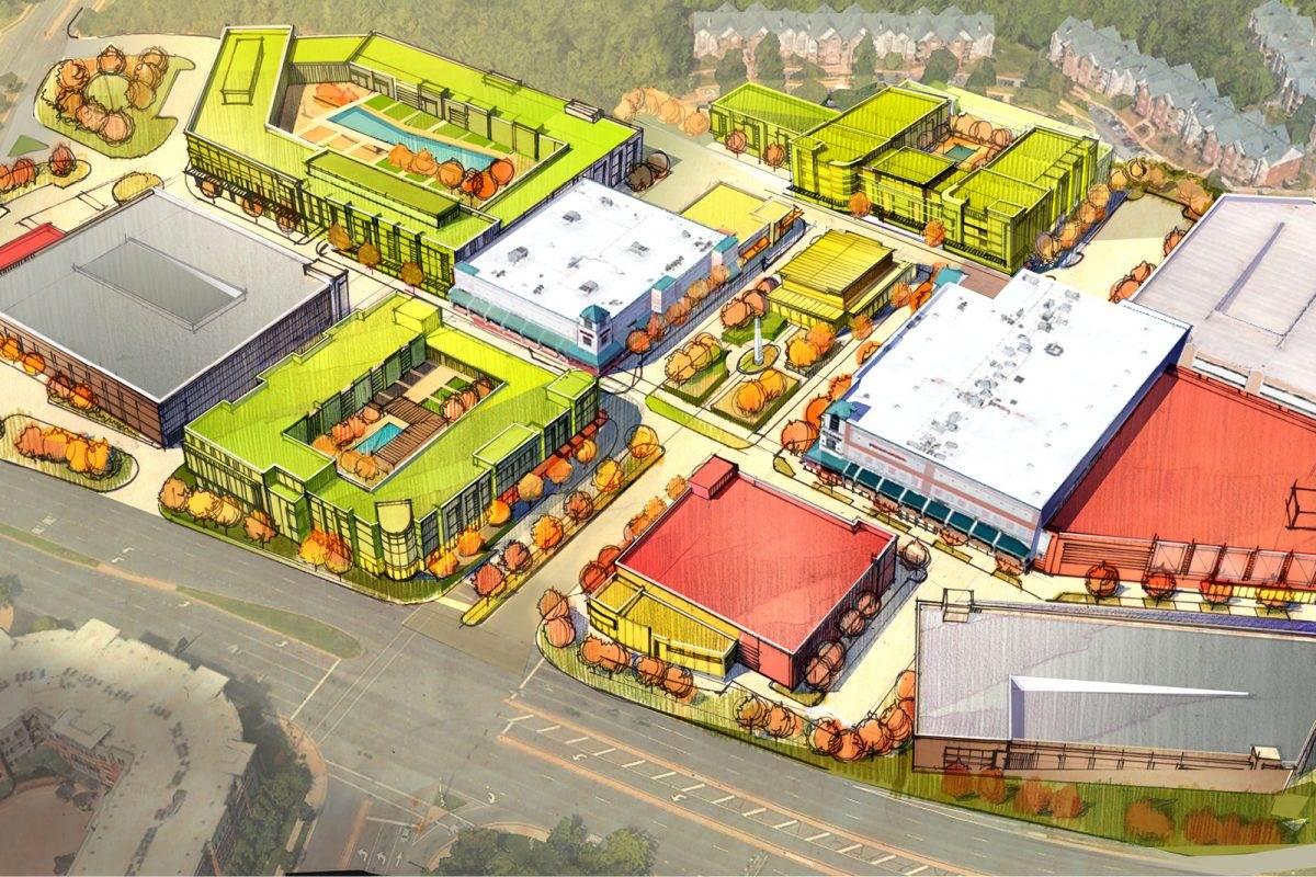 Fairfax Towne Center Renovation Study
